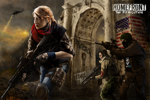 Homefront the Revolution by yuhime