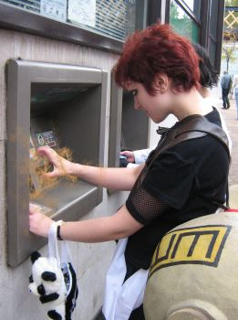 --Gaara at the ATM-- by invisible-deity