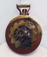 Steampunk Pocket Watch 4 by dravensinferno