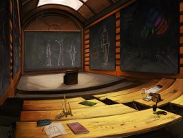 Le Guide du Voyageur Lubien - Auditorium by purple-scales