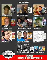 BEST COMIC CREATOR CATEGORY by komikon