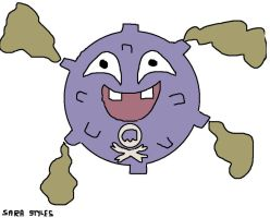 Smoggy the Koffing by BlueSkyWarhawk