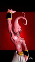 Destroyer of Worlds_Majin Buu by Tru-Colorz