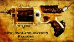 New England Raygun Factory by NotReallyArtistic