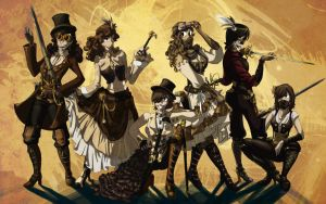 Group SteamPunk by Syra-728
