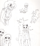 So Much Fecking Doodles by AkitheShinigami