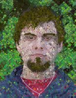 Self Portrait A La Chuck Close by KantQontrolMyself