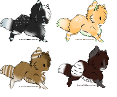 Dog adopts! by Shire7