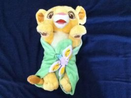 Baby Simba with blanket plush - TLK by Gallade007