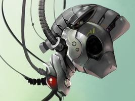 Request:Robot head by GashibokA