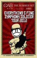 Everything's Fine Symphony Soldier Tour Poster by Classikelly
