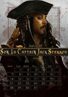 Geek Calendar 2014: July by Sceith-A