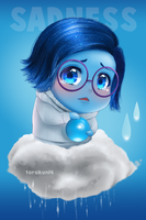 Fanart: Sadness Inside Out by torakun14