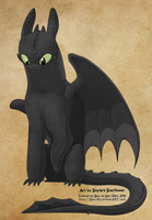 Toothless the NF by SS by Bou-Ro