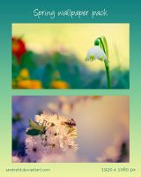 Spring Wallpaper Pack by Evey90