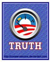 Obama Truth Gauge by Conservatoons