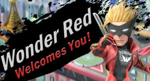 Wonder Red for SSB4 by Elemental-Aura