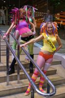 Rave Girls by popecerebus