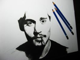 Johnny Depp - WIP by Finihous