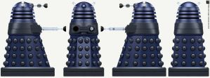 New Paradigm Dalek Scientist by Librarian-bot