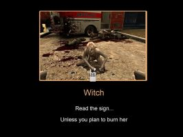 L4D: Witch by Kyuubi-The-Night-Fox