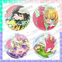Tiger n Bunny Button set by OXMiruku