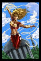 Wonder Girl CG by Jats