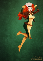 Disney Halloween: Merida by IsaiahStephens