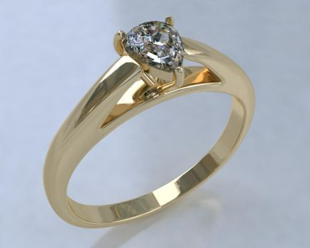 Vray Ring Gold by Naruto-De