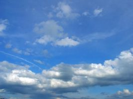 Blue Sky with Clouds by Jantiff-Stocks