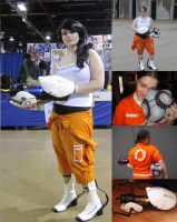 Chell Cosplay- Portal 2 by littlemissysg