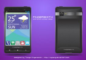 smartphone concept by cgtang