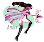 Azalea in Action by Prinnia