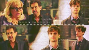 Spencer Reid you scare me by Anthony258