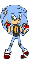 Sonic android by Fallen-angelguardian