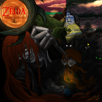 The Legend of Zelda: Twilight Interloper Cover Art by WindYoshi