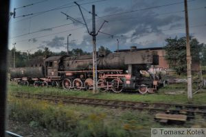 locomotive in Pseudo HDR by kitek89