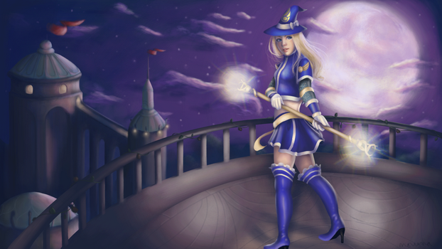 League of Legends - Sorceress Lux by ShinkuMourna
