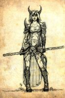 Dungeons and Dragons Character by cleophus