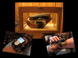 Audemitter Cuff -Ipod Classic- by Vile-Victorian