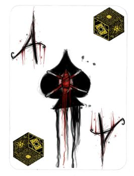 The Ace of Spades gutted by pyroness