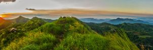 Sunset at Mt. Batulao by JdelosSantos