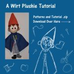 OtGW Wirt Plushie Tutorial and Patterns by DonutTyphoon