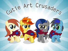 Cutie Art Crusaders fanart vector by Agamnentzar