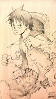 Monkey D. Luffy by RidleyWright