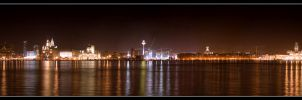 Liverpool by Night by 2-m