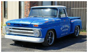 Cool Blue Chevy Stepside Truck by TheMan268