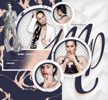 PACK PNG 671 | DEMI LOVATO. by MAGIC-PNGS