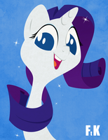 Rarity Portraiture by FluttershytheKind