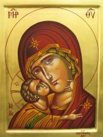 Virgin Mary. by teopa